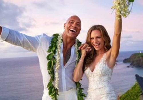 חיים ב-Seret: החתונה של דוויין דה רוק ג'ונסון