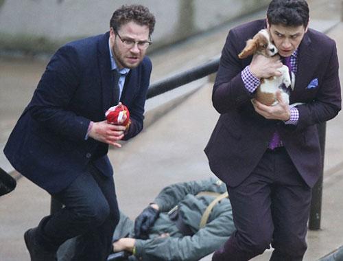 בעקבות איומים לפיגועי טרור: בוטלה יציאת הסרט ראיון סוף לאקרנים