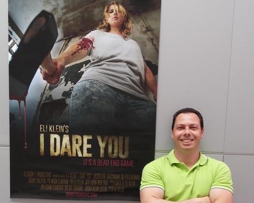 הדור החדש - אלי קליין, במאי סרט האימה הקצר I Dare You