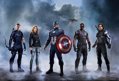 Seret קומיקס - קפטן אמריקה בטריילר חדש וארבעת המופלאים מבוטל