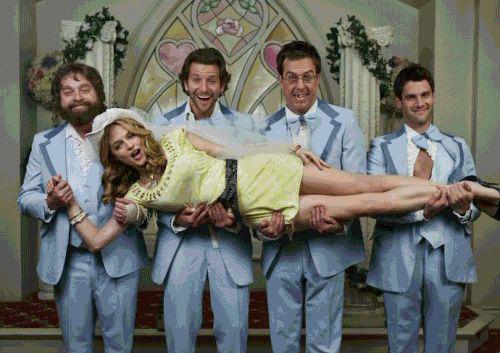 בדרך לחתונה עוצרים בקולנוע - קומדיות החתונה הגדולות