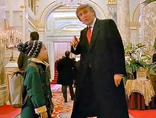 הנשיא טראמפ: קבלו את כל הקטעים מהסרטים בכיכובו של הנשיא הבא