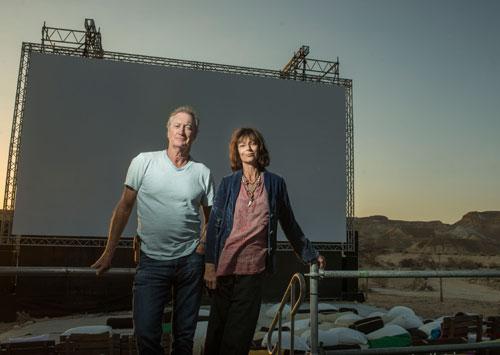 פסטיבל סרטים בערבה: ראיון עם בריאן בראון ורייצ'ל וורד