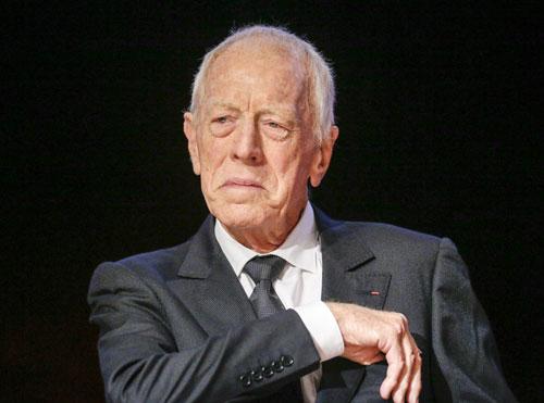 מגדולי השחקנים של הקולנוע האירופי: מקס פון סידוב הלך לעולמו בגיל 90