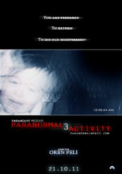 Paranormal Activity 3 - פרטי סרט : פעילות על טבעית 3