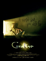 Coraline - פרטי סרט : קורליין ודלת הקסמים עברית